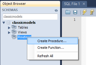 create-mysql-stored-procedure-mysql-workbench-step-1