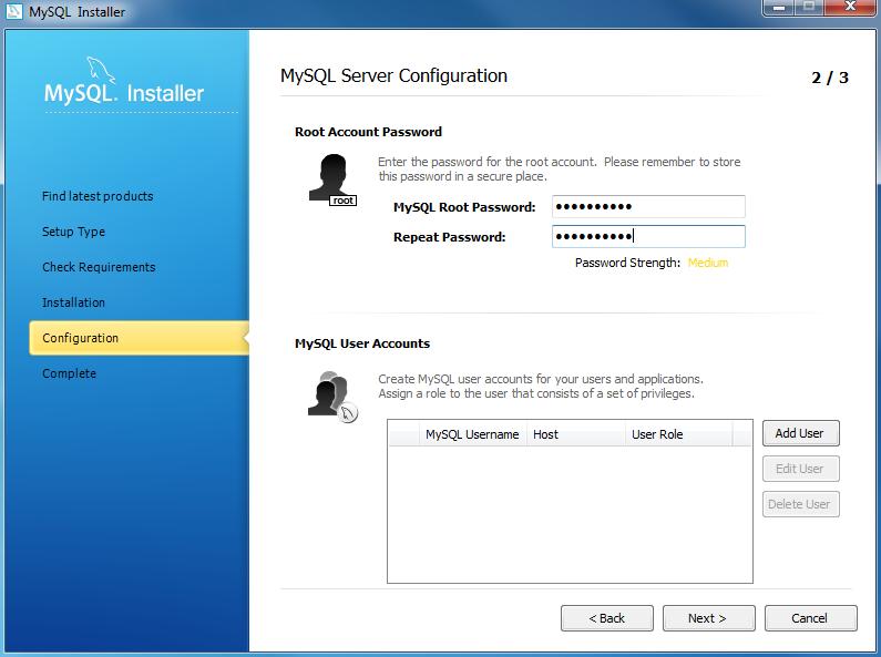 Install MySQL on Windows Using MySQL Installer