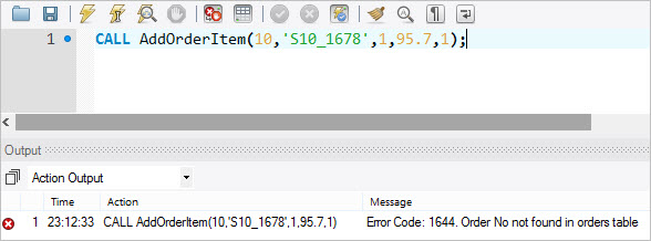 Raising Error Conditions with MySQL SIGNAL / RESIGNAL Statements