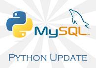 Python MySQL Update Data