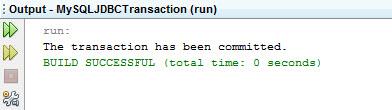 jdbc transaction