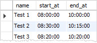 MySQL TIME HHMMSS numeric