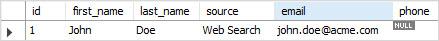 MySQL IS NOT NULL