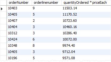 MySQL ORDER BY